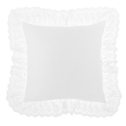 Wamsutta® Vintage Chapelle Square Throw Pillow in Bright White