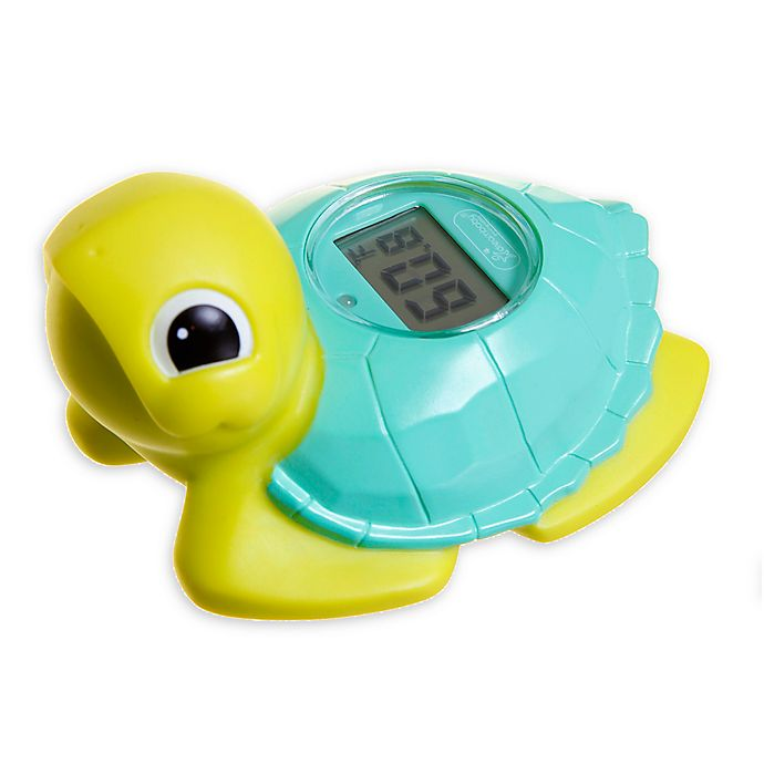 Alternate image 1 for Dreambaby® Turtle Bath Water Thermometer in Green