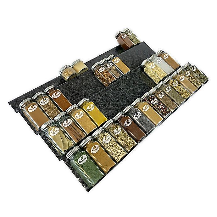 Alternate image 1 for Lynk Professional® Expandable Spice Rack Tray Drawer Insert