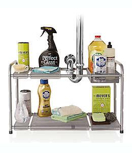 Organizador para fregadero doble de malla ORG™ expandible