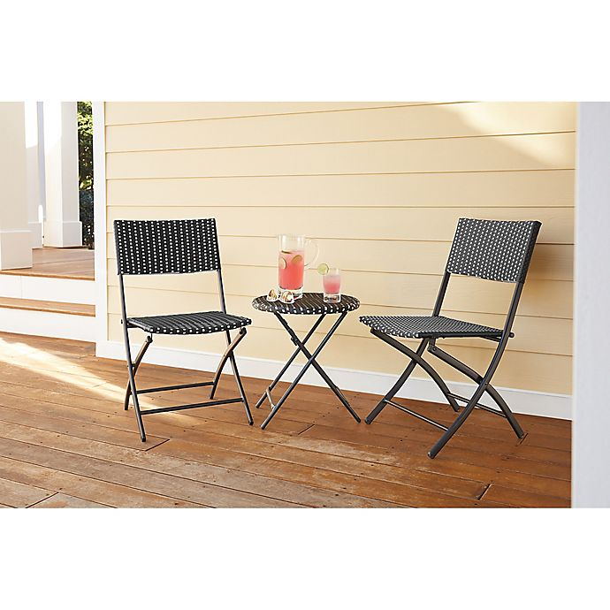 Alternate image 1 for Parisian Wicker Outdoor Furniture Collection