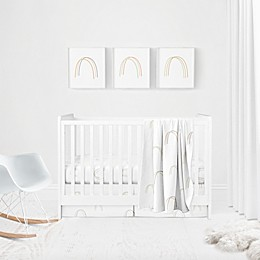 goumi® Bedding Separates Rainbow 5-Piece Crib Bedding Set