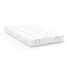 Goumi® Over the Rainbow Fitted Crib Sheet