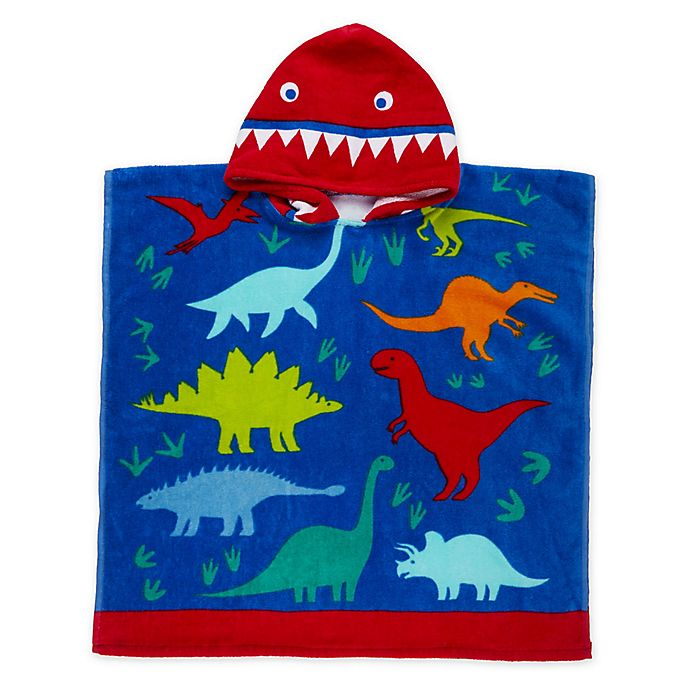 Alternate image 1 for Dinosaur Kids Hooded Beach Towel