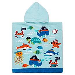 Ocean Friends Kids Hooded Beach Towel