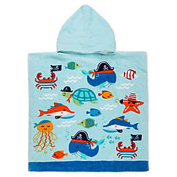 Ocean Friends Kids Hooded Beach Towel