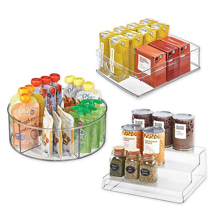 Alternate image 1 for iDesign® Plastic Cabinet Organizer Collection
