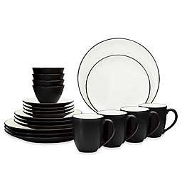 Noritake® Colorwave Coupe 20-Piece Dinnerware Set in Graphite