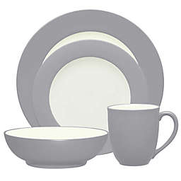 Noritake® Colorwave Rim 4-Piece Place Setting in Slate