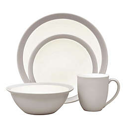 Noritake® Colorwave Curve 4-Piece Place Setting in Sand