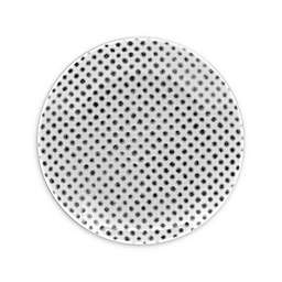 Noritake® Grey Hammock Dots Coupe Appetizer Plate