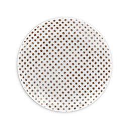Noritake® Khaki Hammock Dots Coupe Appetizer Plate