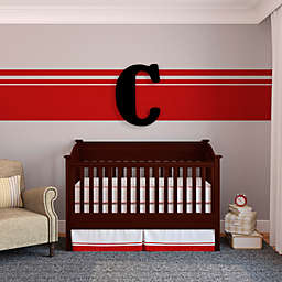 "Munch™ Oversized Black Wood Letter Wall Art  ""C"""