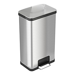halo™ AirStep Stainless Steel 18-Gallon Kitchen Trash Can