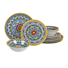Certified International Portofino 12-Piece Dinnerware Set