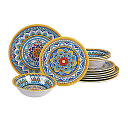 Certified International Portofino 12-Piece Dinnerware Set