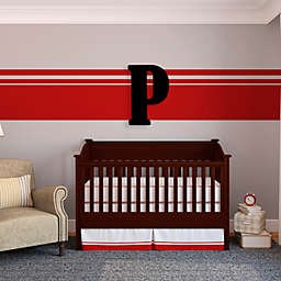 "Munch™ Oversized Black Wood Letter Wall Art ""P"""