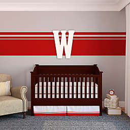 "Munch™ Oversized White Painted Letter ""W"""