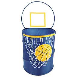 Bongo Buddy Basketball Hamper in Navy