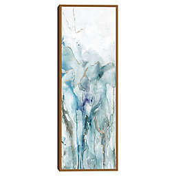 Masterpiece Art Gallery Abstract Lapis II Framed Canvas Wall Art