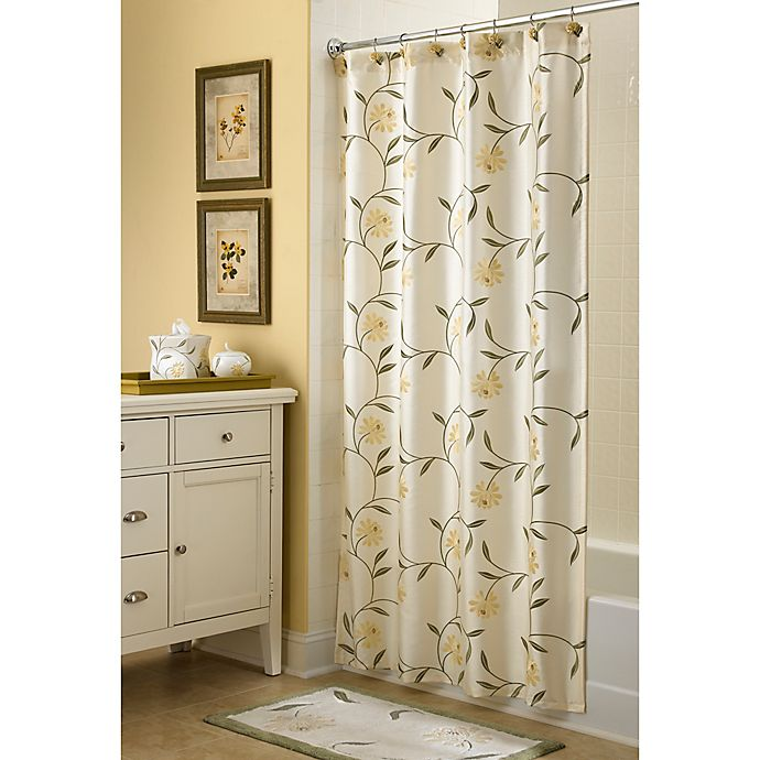Alternate image 1 for Croscill® 72-Inch x 75-Inch Penelope Shower Curtain