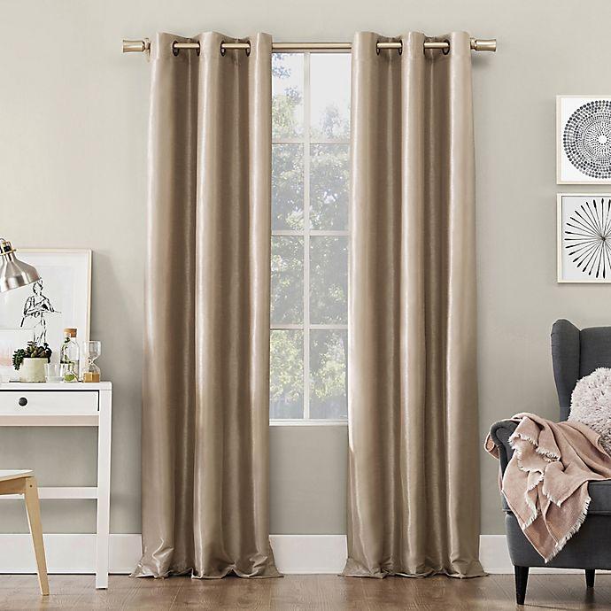 Alternate image 1 for Sun Zero® Bardot Grommet Window Curtain Panel (Single)