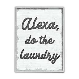 """Alexa, Do the Laundry"" Wall Art Collection"