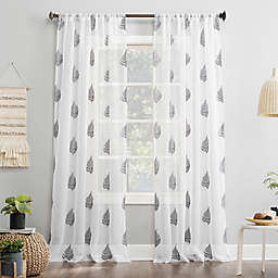 No.918® Fern 63-Inch  Curtain in White