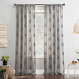 No.918® Fern 84-Inch  Curtain in White