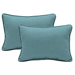 Arden Selections Textured Oblong Indoor/Outdoor Throw Pillows