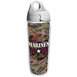 Tervis® 24-Ounce Proud Marine Mom Wrap Water Bottle with Lid