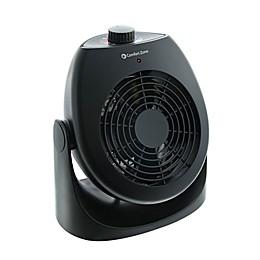Comfort Zone® Portable Dual Space Heater & Fan in Black