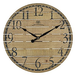 Bee & Willow™ Home Round Wall Clock