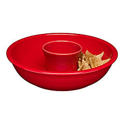 Fiesta® Chip and Dip in Scarlet