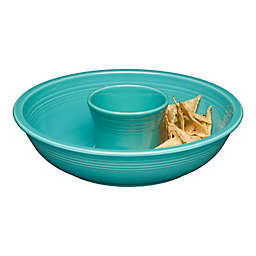 Fiesta® Chip and Dip in Turquoise