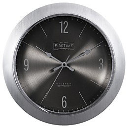 FirsTime & Co.® Steel Core 11-Inch Wall Clock in Silver