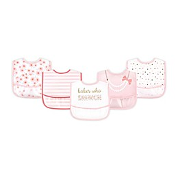 Little Treasure 5-Pack Pocket Bibs