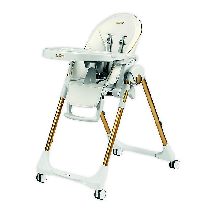Alternate image 1 for Peg Perego Prima Pappa Zero 3 High Chair in Gold