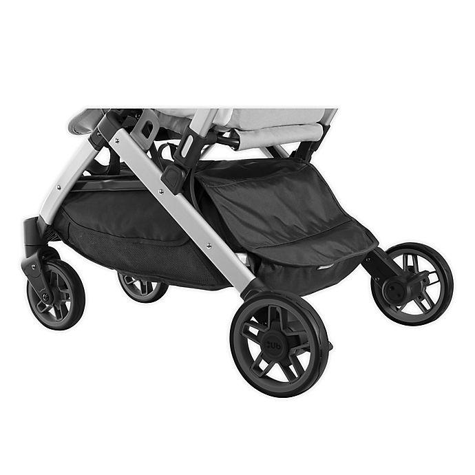 Alternate image 1 for UPPAbaby® MINU Stroller Basket Rain Cover in Black