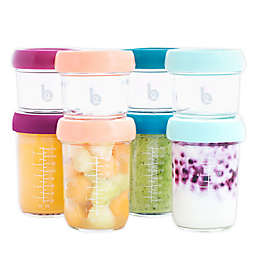 Babymoov® 8-Pack Glass Bowls with Lids and Recipe Book