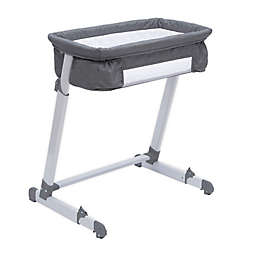 By the Bed Deluxe Sleeper Bassinet in Grey