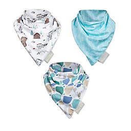 Trend Lab® 3-Pack Little Camper Bandana Bibs