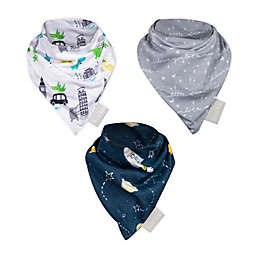Trend Lab® 3-Pack Baby Traveler Bandana Bibs