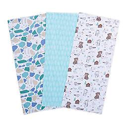 Trend Lab® 3-Pack Little Camper Burp Cloths
