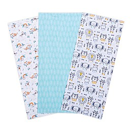 Trend Lab® 3-Pack Baby Safari Burp Cloths
