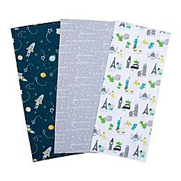 Trend Lab® 3-Pack Baby Traveler Burp Cloths
