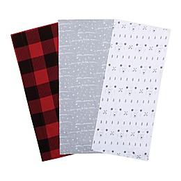 Trend Lab® 3-Pack Peak-a-Bear Burp Cloths