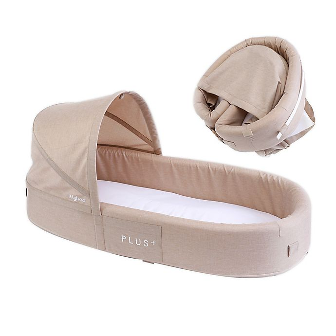 Alternate image 1 for LuLyBoo® Bassinet Plus Baby Travel Bed in Oat