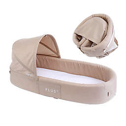LuLyBoo® Bassinet Plus Baby Travel Bed in Oat