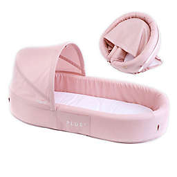 LuLyBoo® Bassinet Plus Baby Travel Bed in Blush